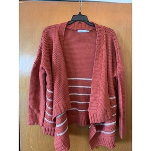 Size small Blu Pepper Open Front Cardigan